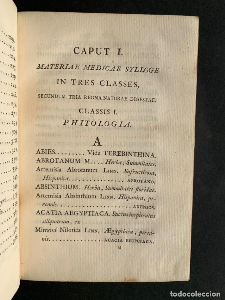 Libros antiguos: 1803 - Pharmacopoea Hispana - Farmacia Española - Formulas - Medicina - - Foto 6 - 146624278