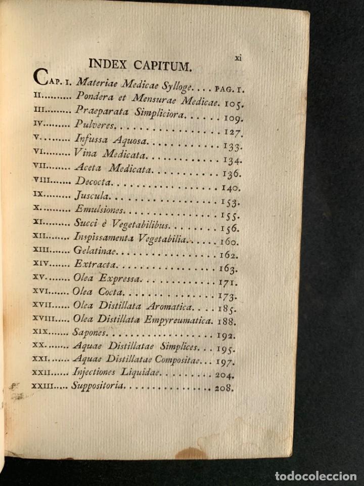 Libros antiguos: 1803 - Pharmacopoea Hispana - Farmacia Española - Formulas - Medicina - - Foto 7 - 146624278