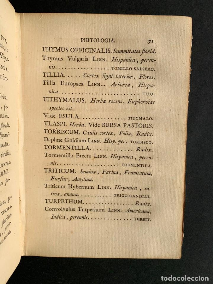 Libros antiguos: 1803 - Pharmacopoea Hispana - Farmacia Española - Formulas - Medicina - - Foto 10 - 146624278