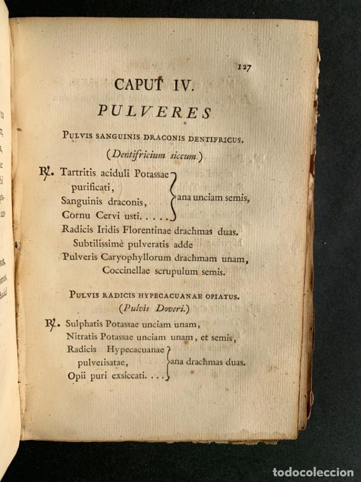 Libros antiguos: 1803 - Pharmacopoea Hispana - Farmacia Española - Formulas - Medicina - - Foto 14 - 146624278