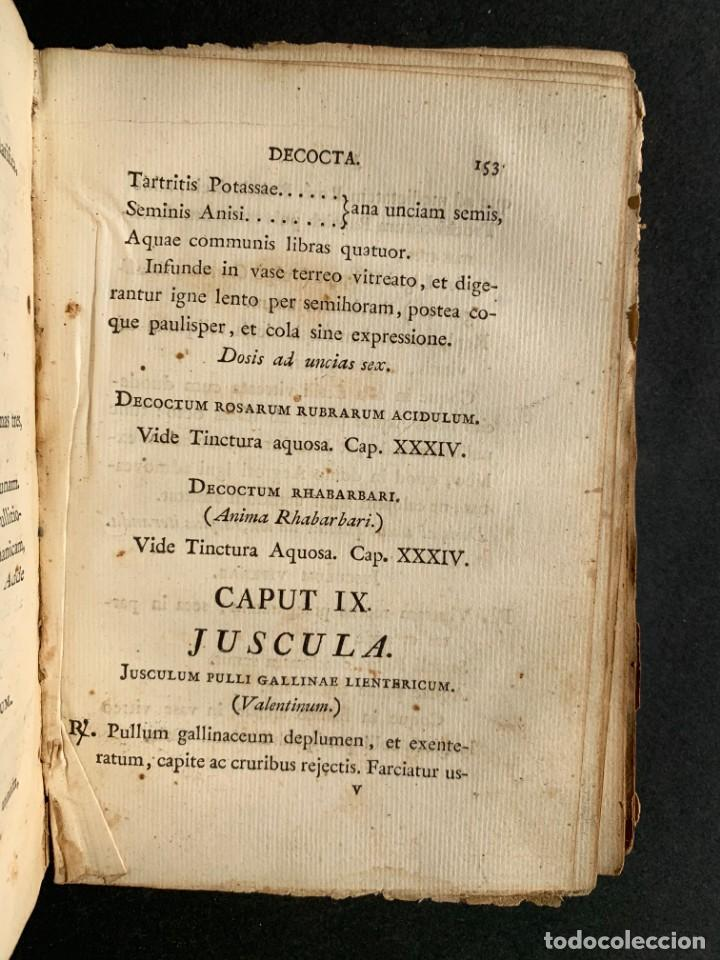 Libros antiguos: 1803 - Pharmacopoea Hispana - Farmacia Española - Formulas - Medicina - - Foto 17 - 146624278
