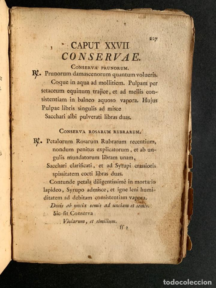 Libros antiguos: 1803 - Pharmacopoea Hispana - Farmacia Española - Formulas - Medicina - - Foto 18 - 146624278