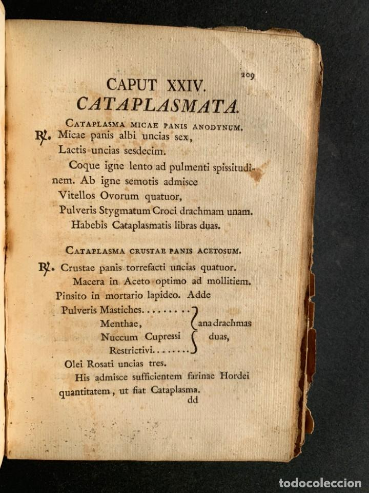 Libros antiguos: 1803 - Pharmacopoea Hispana - Farmacia Española - Formulas - Medicina - - Foto 19 - 146624278