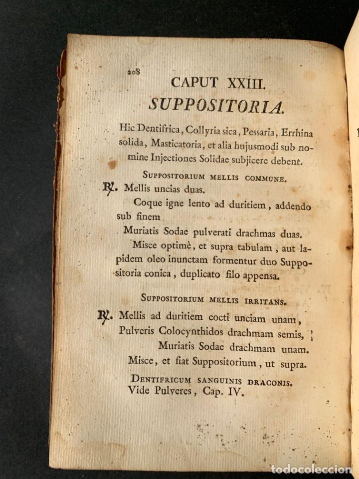 Libros antiguos: 1803 - Pharmacopoea Hispana - Farmacia Española - Formulas - Medicina - - Foto 20 - 146624278