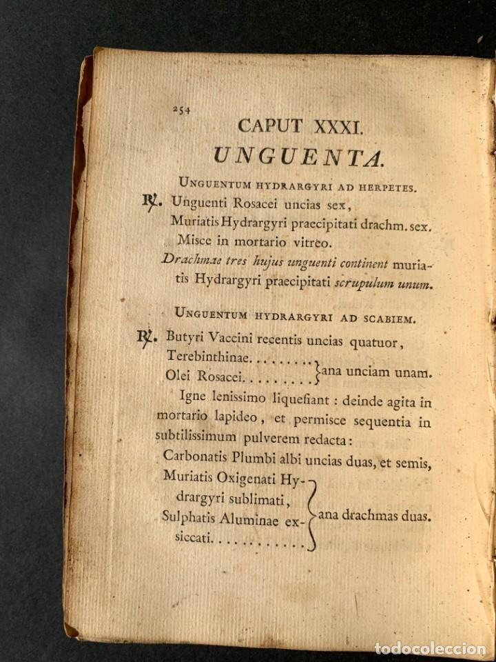 Libros antiguos: 1803 - Pharmacopoea Hispana - Farmacia Española - Formulas - Medicina - - Foto 21 - 146624278