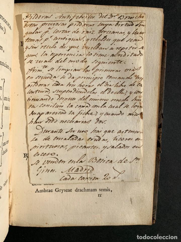 Libros antiguos: 1803 - Pharmacopoea Hispana - Farmacia Española - Formulas - Medicina - - Foto 22 - 146624278