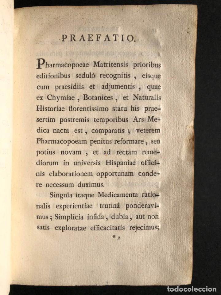 Libros antiguos: 1797 PHARMACOPOEA HISPANA - Farmacia - Medicina - FARMACOPEA - Foto 6 - 146757438