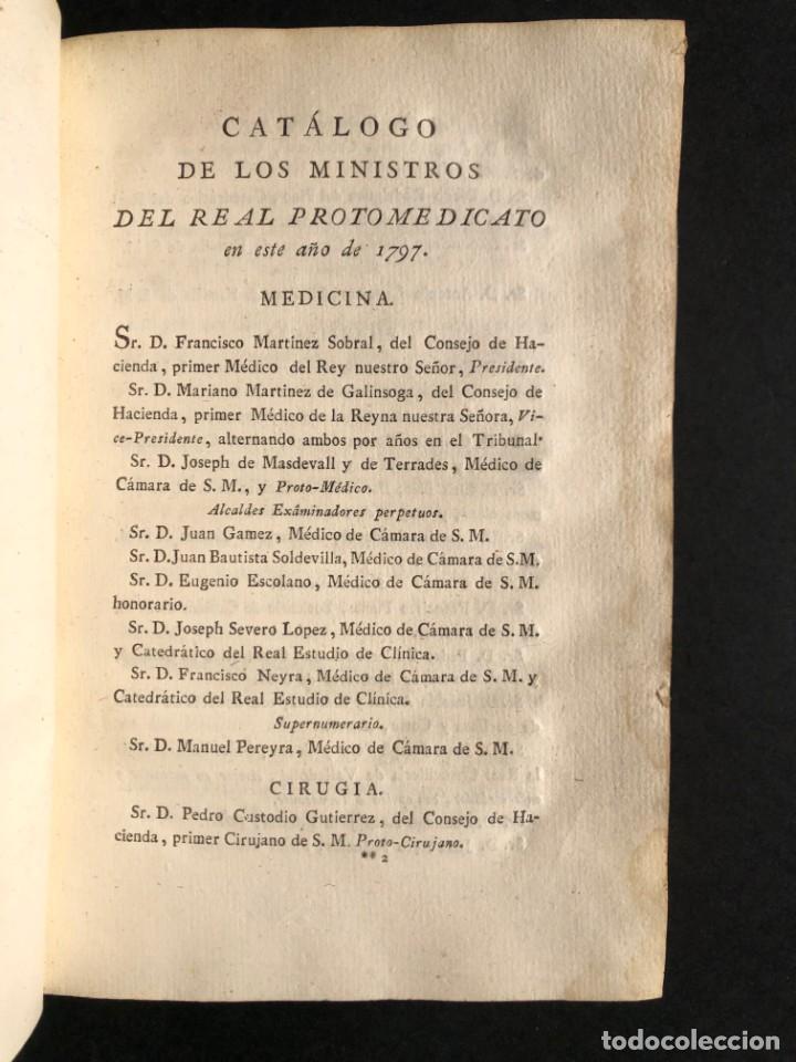 Libros antiguos: 1797 PHARMACOPOEA HISPANA - Farmacia - Medicina - FARMACOPEA - Foto 7 - 146757438