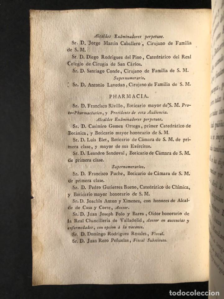 Libros antiguos: 1797 PHARMACOPOEA HISPANA - Farmacia - Medicina - FARMACOPEA - Foto 8 - 146757438