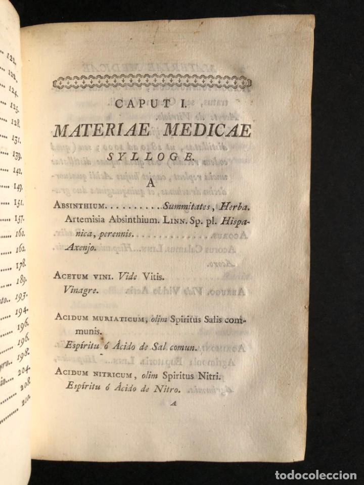 Libros antiguos: 1797 PHARMACOPOEA HISPANA - Farmacia - Medicina - FARMACOPEA - Foto 11 - 146757438