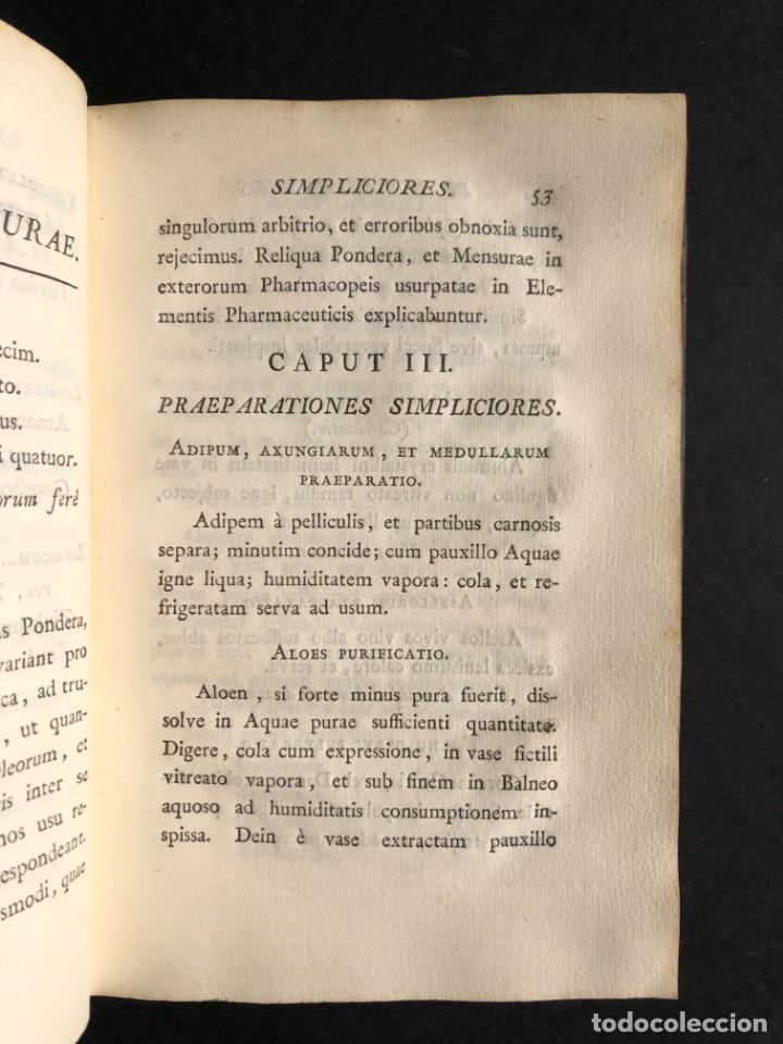 Libros antiguos: 1797 PHARMACOPOEA HISPANA - Farmacia - Medicina - FARMACOPEA - Foto 14 - 146757438