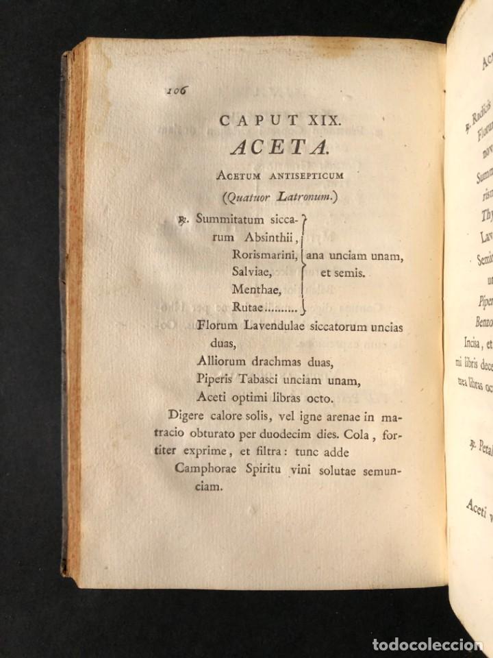 Libros antiguos: 1797 PHARMACOPOEA HISPANA - Farmacia - Medicina - FARMACOPEA - Foto 18 - 146757438