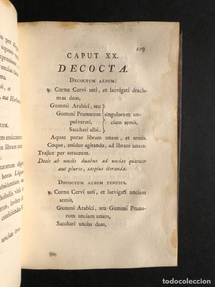 Libros antiguos: 1797 PHARMACOPOEA HISPANA - Farmacia - Medicina - FARMACOPEA - Foto 19 - 146757438