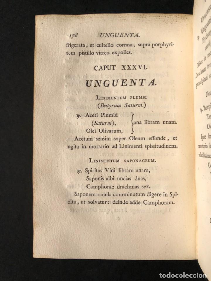 Libros antiguos: 1797 PHARMACOPOEA HISPANA - Farmacia - Medicina - FARMACOPEA - Foto 24 - 146757438