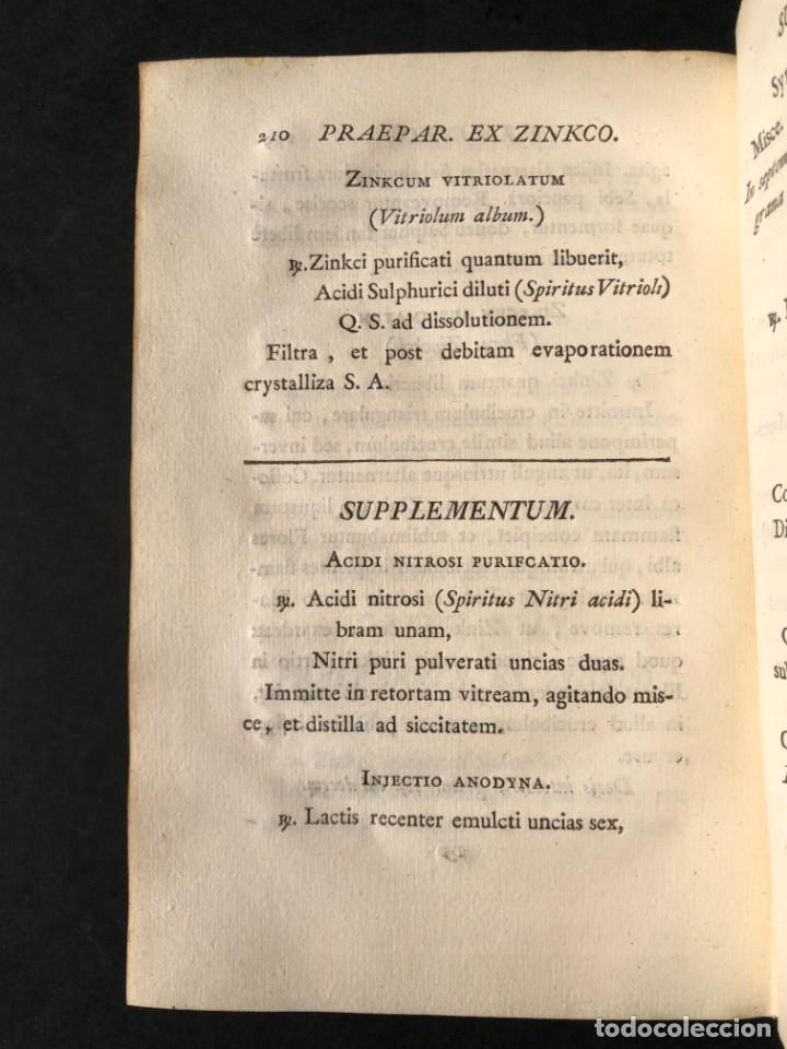 Libros antiguos: 1797 PHARMACOPOEA HISPANA - Farmacia - Medicina - FARMACOPEA - Foto 25 - 146757438