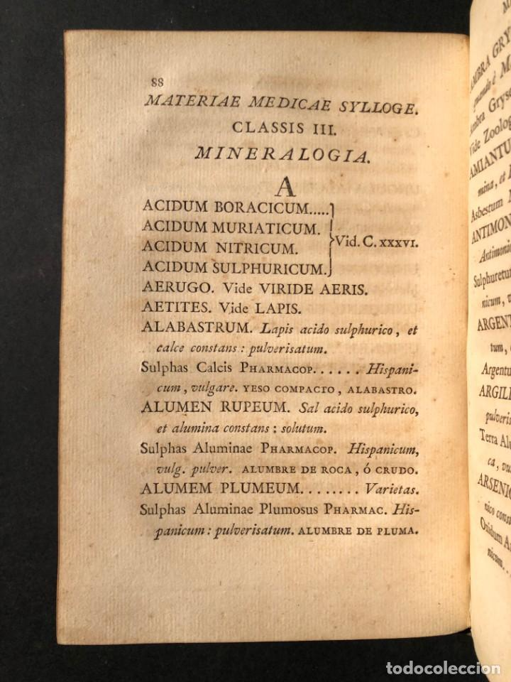 Libros antiguos: 1803 PHARMACOPOEA HISPANA - Farmacia - Medicina - FARMACOPEA - Foto 13 - 146757670