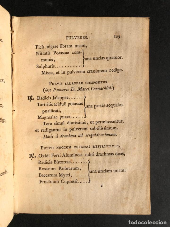 Libros antiguos: 1803 PHARMACOPOEA HISPANA - Farmacia - Medicina - FARMACOPEA - Foto 15 - 146757670