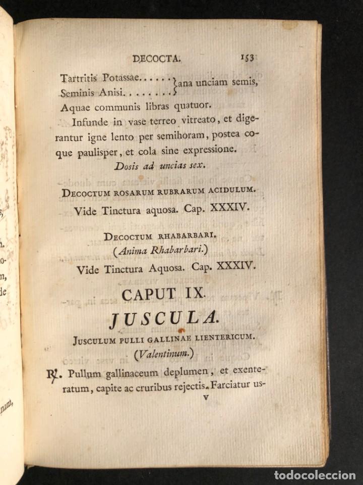 Libros antiguos: 1803 PHARMACOPOEA HISPANA - Farmacia - Medicina - FARMACOPEA - Foto 17 - 146757670