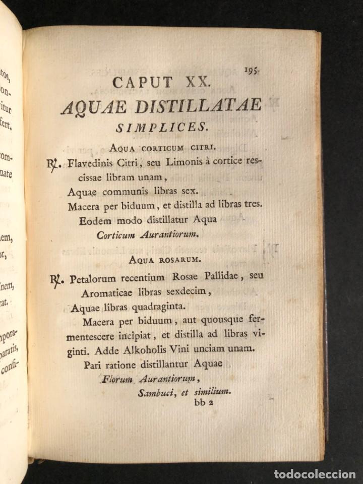 Libros antiguos: 1803 PHARMACOPOEA HISPANA - Farmacia - Medicina - FARMACOPEA - Foto 19 - 146757670