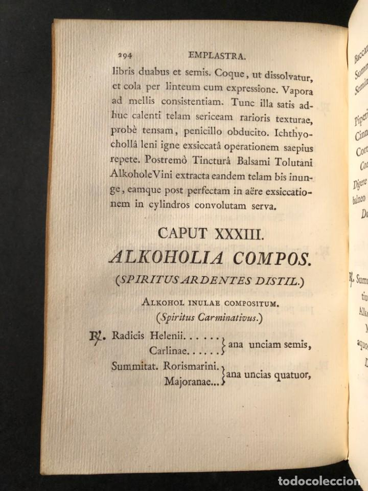 Libros antiguos: 1803 PHARMACOPOEA HISPANA - Farmacia - Medicina - FARMACOPEA - Foto 26 - 146757670