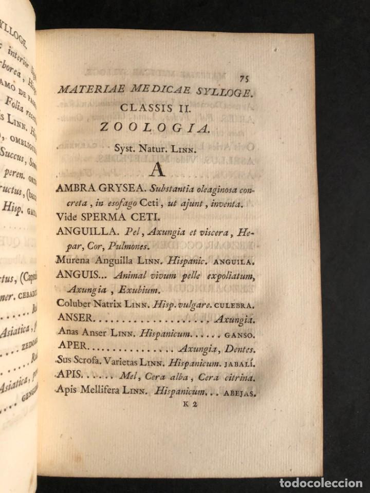 Libros antiguos: 1803 PHARMACOPOEA HISPANA - Farmacia - Medicina - FARMACOPEA - Foto 13 - 176368510