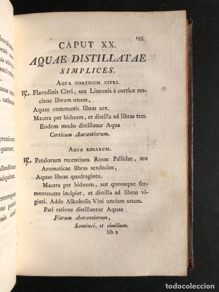 Libros antiguos: 1803 PHARMACOPOEA HISPANA - Farmacia - Medicina - FARMACOPEA - Foto 20 - 176368510