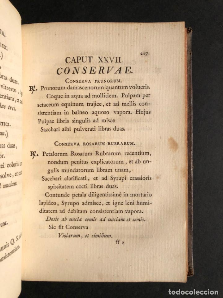 Libros antiguos: 1803 PHARMACOPOEA HISPANA - Farmacia - Medicina - FARMACOPEA - Foto 24 - 176368510