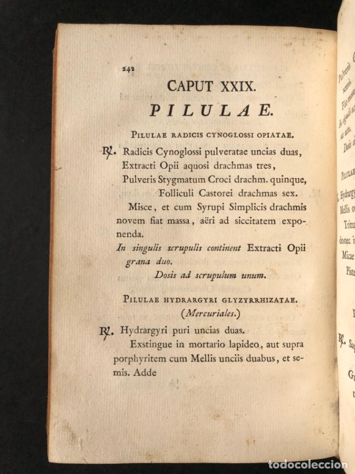 Libros antiguos: 1803 PHARMACOPOEA HISPANA - Farmacia - Medicina - FARMACOPEA - Foto 25 - 176368510