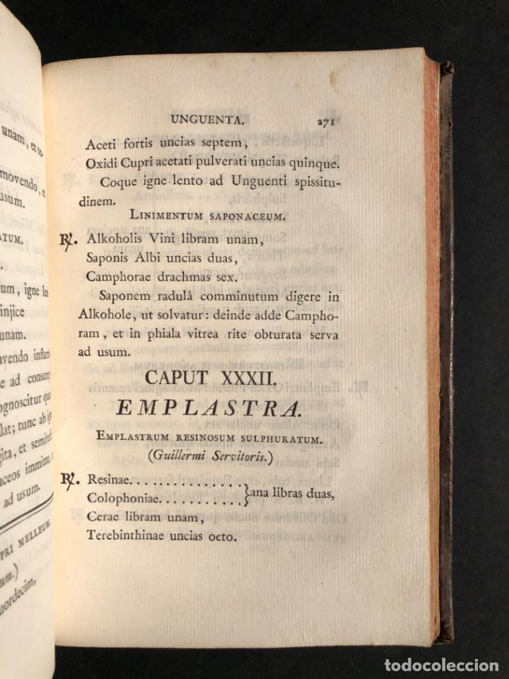 Libros antiguos: 1803 PHARMACOPOEA HISPANA - Farmacia - Medicina - FARMACOPEA - Foto 26 - 176368510