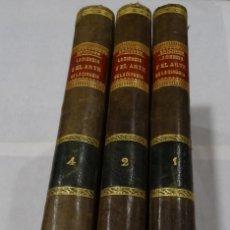 Libros antiguos: LA CIENCIA Y EL ARTE DE LA CIRUGIA. JUAN ERIC ERICHESEN TOMOI- TOMO II (AÑO 1883) TOMO IV 1884. Lote 150513216