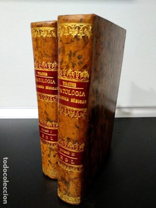 Libros antiguos: Patología y clínica médicas. Vilches. 1875. 2 tomos - Foto 2 - 148696954