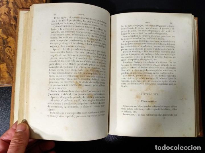 Libros antiguos: Patología y clínica médicas. Vilches. 1875. 2 tomos - Foto 6 - 148696954