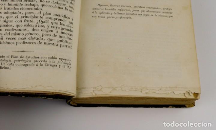 Libros antiguos: Nuevos Elementos de Cirugía y Medicina - Obra completa 2 tomos - año 1846 - Foto 8 - 149139950