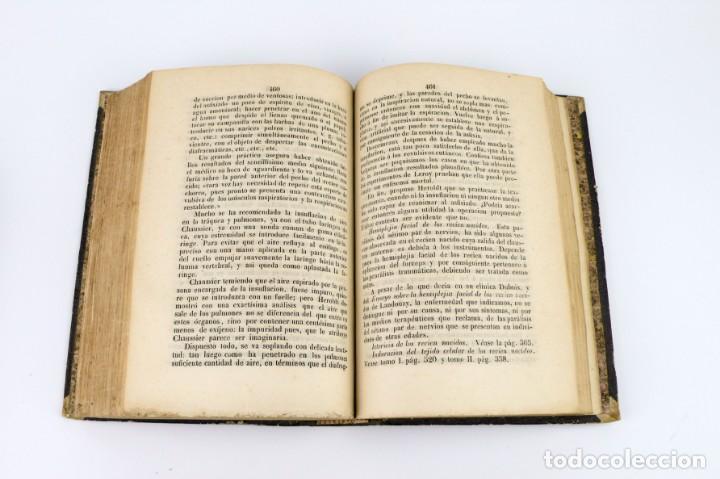 Libros antiguos: Nuevos Elementos de Cirugía y Medicina - Obra completa 2 tomos - año 1846 - Foto 12 - 149139950