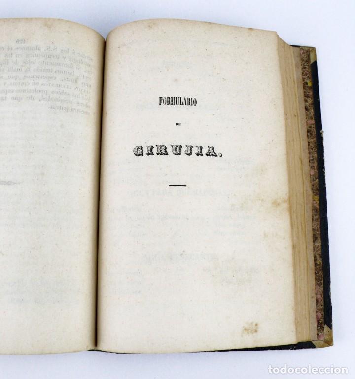 Libros antiguos: Nuevos Elementos de Cirugía y Medicina - Obra completa 2 tomos - año 1846 - Foto 13 - 149139950