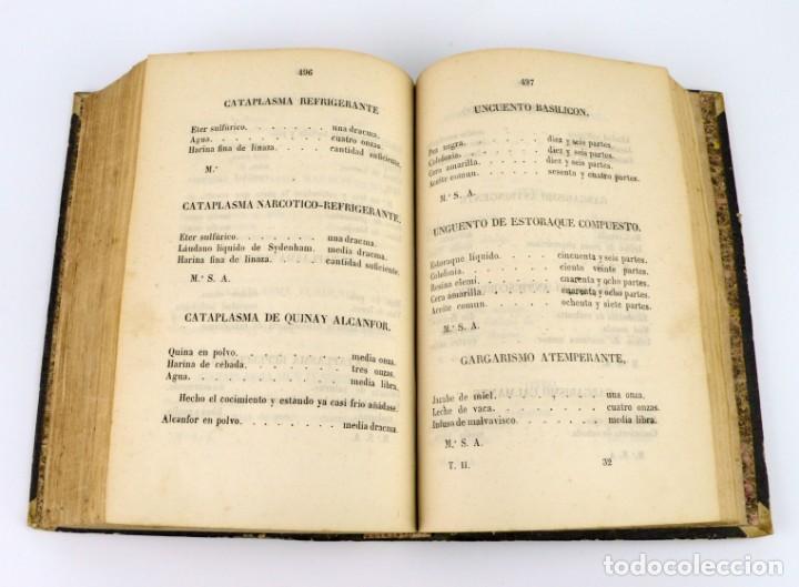Libros antiguos: Nuevos Elementos de Cirugía y Medicina - Obra completa 2 tomos - año 1846 - Foto 15 - 149139950
