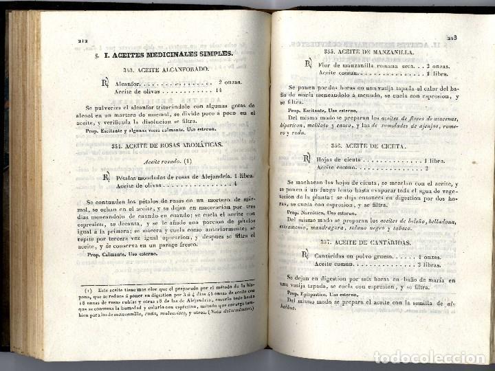 Libros antiguos: FARMACIA FARMACOPEA FRANCESA JIMENEZ MANUEL MADRID 1840 433 PGS - Foto 3 - 149583714