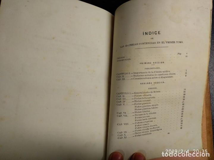 Libros antiguos: Patología y clínica médicas. Vilches. 1875. 2 tomos - Foto 14 - 148696954