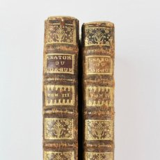 Libros antiguos: L-5258. EXPOSITION ANATOMIQUE STRUCTURE DU CORPS HUMAIN.JACQUES BENIGNE WINSLOW TOME III Y IV.1732.. Lote 151258250