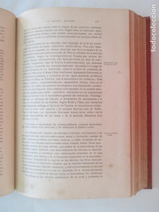 Libros antiguos: L. LANDOIS. TRATADO DE FISIOLOGÍA HUMANA. DOCTOR R. ROSEMANN. TOMO PRIMERO. MADRID 1914 - Foto 3 - 151437106