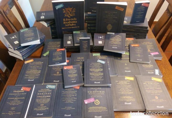 51 LIBROS FACSÍMILES RELATIVOS A LA MEDICINA (1551-1891). CIRUGÍA OBSTETRICIA ENFERMERÍA SANIDAD (Libros Antiguos, Raros y Curiosos - Ciencias, Manuales y Oficios - Medicina, Farmacia y Salud)