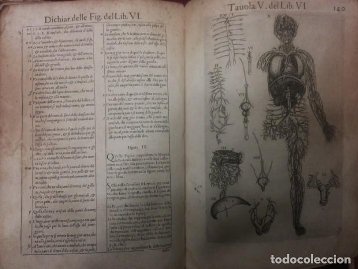 Libros antiguos: ANATOMÍA DEL CUERPO HUMANO, DE VALVERDE DE AMUSCO AÑO 1560.Siglo XVI - Foto 7 - 152441030