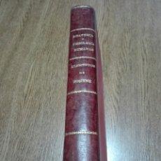 Libros antiguos: -CENDRERO CURIEL ORESTES.ELEMENTOS DE ANATOMIA Y FISIOLOGIA HUMANAS. -ELEMENTOS DE HIGIENE. 2T. Lote 153375564