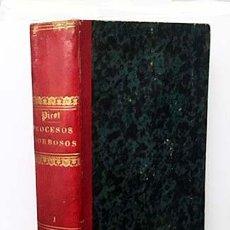 Libros antiguos: LOS GRANDES PROCESOS MORBOSOS. 1879. (PICOT) 783 PÁGINAS, CON 150 GRABADOS INTERCALADOS EN EL TEXTO. Lote 154148194