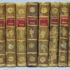 Libros antiguos: 1801-1803.- TRATADO MEDICINA LEGAL. FRANCISCO FODERE. 8 TOMOS. Lote 154392386