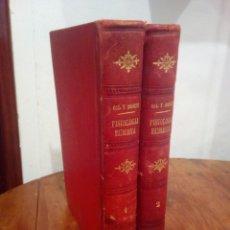 Libros antiguos: LIBROS ANTIGUOS TRATADO DE FISIOLOGÍA HUMANA. Lote 154485072