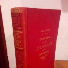 Libros antiguos: LIBRO ANTIGUO TRATADO DE LAS ENFERMEDADES DE LA INFANCIA. Lote 154495881