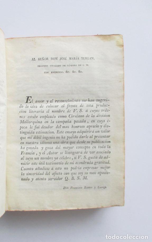 Libros antiguos: MANUAL MEDICO-QUIRURGICO O ELEMENTOS DE MEDICINA Y CIRUGIA PRACTICA - DOS TOMOS - AÑO 1820, MURCIA - Foto 3 - 154603054