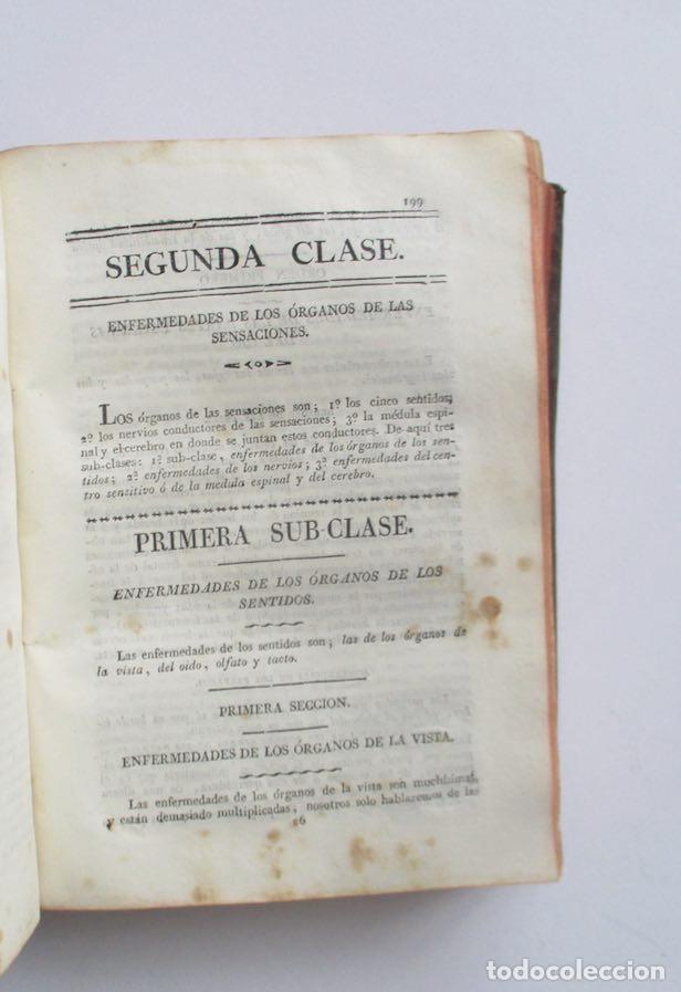 Libros antiguos: MANUAL MEDICO-QUIRURGICO O ELEMENTOS DE MEDICINA Y CIRUGIA PRACTICA - DOS TOMOS - AÑO 1820, MURCIA - Foto 5 - 154603054