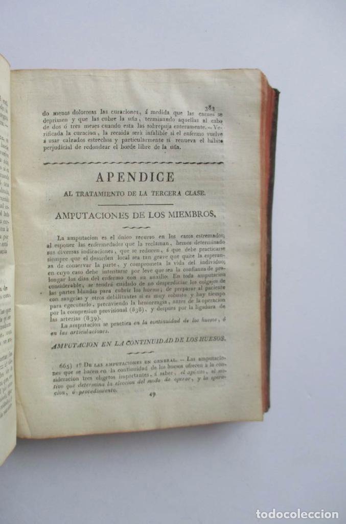 Libros antiguos: MANUAL MEDICO-QUIRURGICO O ELEMENTOS DE MEDICINA Y CIRUGIA PRACTICA - DOS TOMOS - AÑO 1820, MURCIA - Foto 7 - 154603054